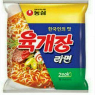 韓香小舖 韓國 農心 辣牛肉湯麵
