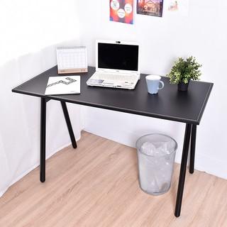 凱堡馬鞍工作桌電腦桌附電線孔蓋桌子書桌~B1