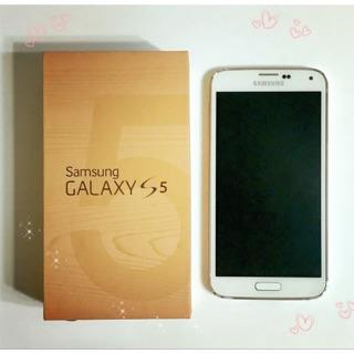 二手 手機 三星 Samsung 白色 GALAXY S5 16GB (附電池1線充1)
