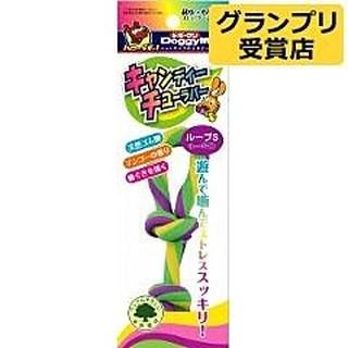 毛毛寵∞日本 Doggyman 天然彩色橡膠玩具  麻花型   S