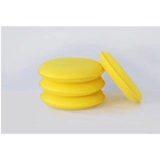 汽車打蠟小圓海綿 擦車海綿 標準洗車工具 圓形拋光打蠟海綿