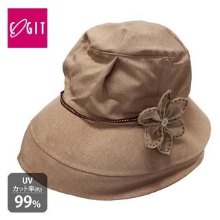 W日本COGIT 深寬檐優雅抗UV美人帽 遮陽帽 女優帽 防曬帽