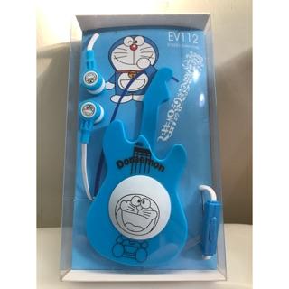 哆啦A夢吉他造型耳機