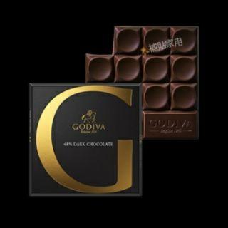 Godiva 歌帝梵 68% 黑巧克力 巧克力 79g G by godiva 系列