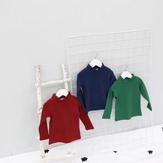 現貨韓國原單兒童立領純棉內搭衣 高領內搭衣 兒童內搭衣