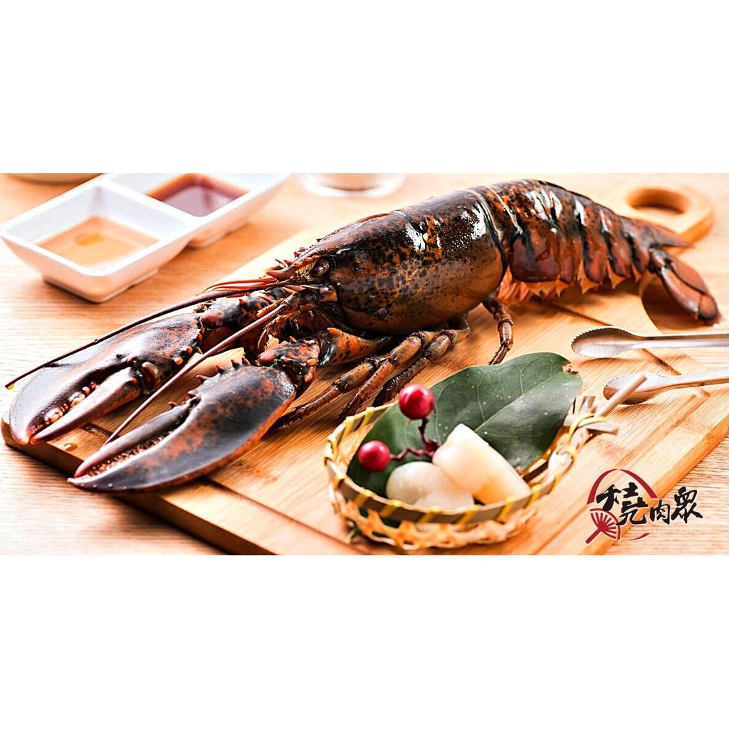 燒肉眾頂級海鮮~波士頓龍蝦、帝王蟹腳、生食級北海道干貝~烤肉單品~全館消費滿兩千免運費