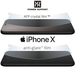 Power Support iPhone X 5 8 吋 亮面、霧面螢幕保護膜保護