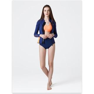 韓國代購 潛水服 衝浪夾克 兩件式 浮淺衣 防寒衣 浮力衣 防曬 2MM加厚版