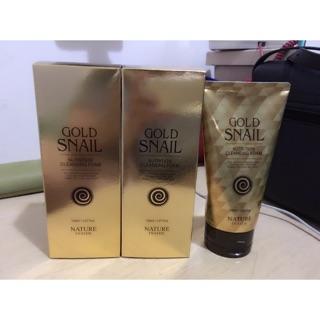 Gold snail 黃金蝸牛洗面乳