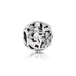 Chris 美國代購 Pandora 潘朵拉 飾品配件 925純銀 Dazzling Daisy Fairy