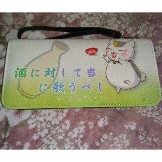 貓咪老師長皮夾