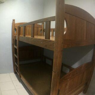 實木雙層床組~雙人床架
