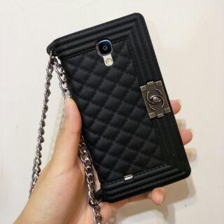 【Cary】二手 三星 Samsung  s4 香奈兒風 小香風 手機套 保護殼 手機殼 矽膠 軟殼 i9500