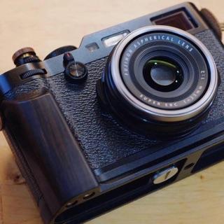 Fujifilm 富士 X100F 紫光檀木 手柄 手把