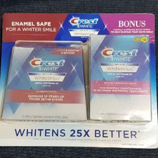 【現貨】Crest 3D White牙齒美白貼片組