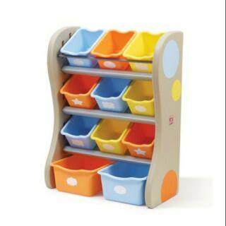 STEP2 玩具收納組  [Costco代購/宅配含運] 103745