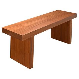 肯尼4.3尺柚木長凳