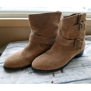 AS麂皮短靴