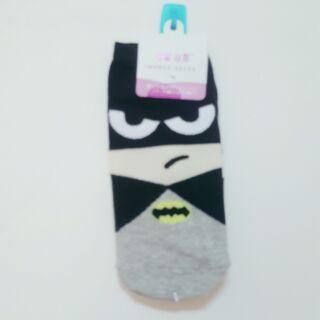 加購1元全館滿499即可1元加購 襪子 短襪 蝙蝠俠