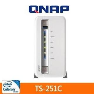 QNAP TS-251C 網路儲存伺服器