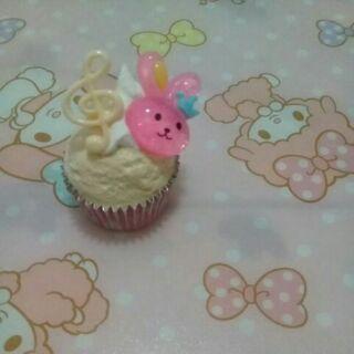 造型杯子蛋糕(黏土)