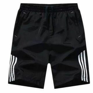 新品特賣 時尚型男短褲 (黑白色) 運動短褲 休閒短褲 男短褲 短褲 中性短褲