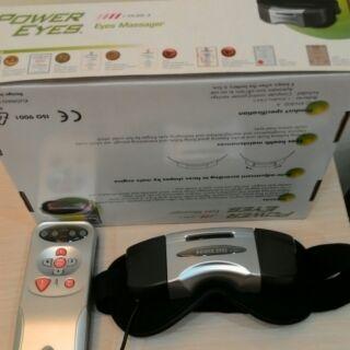 (二手)舒眼立康POWER EYES新型二代眼部按摩器KN-800A 按摩眼罩 熱敷眼罩