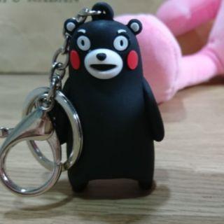 熊本熊立體鑰匙圈