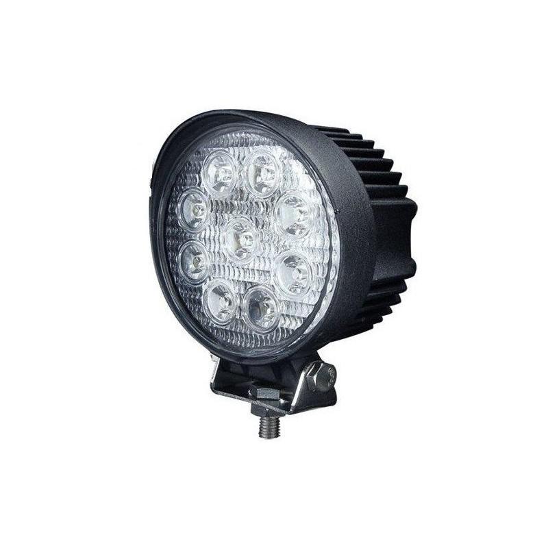 LED工作燈 27w黃金光 黃光12V~24V LED燈 霧燈 日行燈 探照燈 怪手貨車27w黃光48w