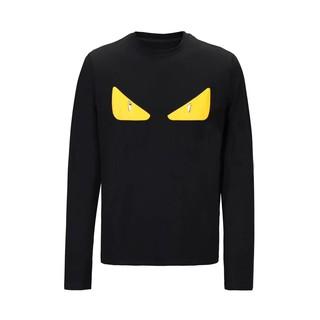 黃眼睛芬迪 FENDI 長袖T恤 潮流時尚大學T恤 男生必備款式