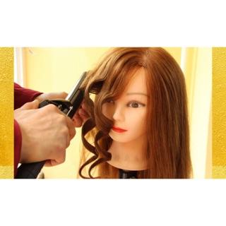 24吋 增量 仿真髮旋 70%真髮 練習頭 假人頭