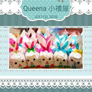 大兔子生日分享禮綜合糖果生日派對糖果餅乾爆米花巧克力