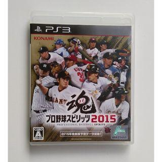 PS3 職棒野球魂2015(含書盒)_(光碟接近100%無刮)