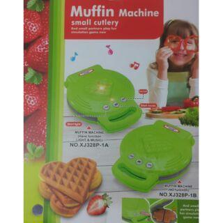 兒童鬆餅機 仿真鬆餅機 辦家家酒 烘焙玩具 鬆餅機玩具