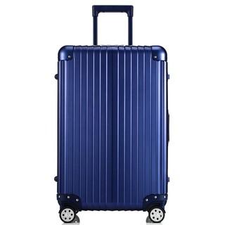 ARTBOX 超次元 - 26吋 輕量PC鏡面鋁框行李箱(藍)
