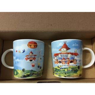 朝陽科技大學 紀念馬克杯 兩入 盒裝