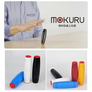 【波波討拍】現貨供應~MOKURU 桌面木棒紓壓療癒神器(無LOGO款) 紅/黃/藍/黑/白 五色隨機出貨