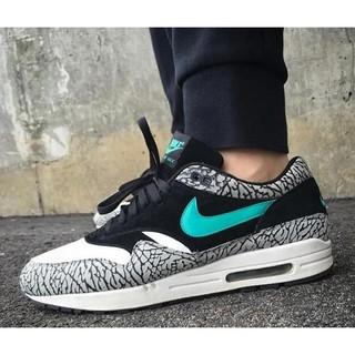 "Nike Air Max 1 ""Elephant"" 爆裂紋 湖水綠 蒂芬妮綠 經典輕量  男女尺寸 慢跑鞋 運動鞋"