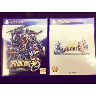 PS4/機器人大戰OG(售出)/final fantasy X|X2/9成新