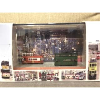 香港 電車模型 叮叮車 雙層巴士 巴士 火車 模型