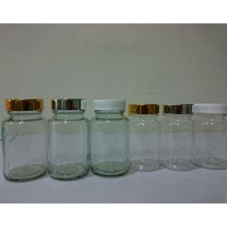 瓶罐大小(100ml)玻璃瓶 塑膠瓶