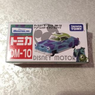 【周周GO玩具森林】(新車到) TOMICA 迪士尼 DM-10 怪獸電力公司車