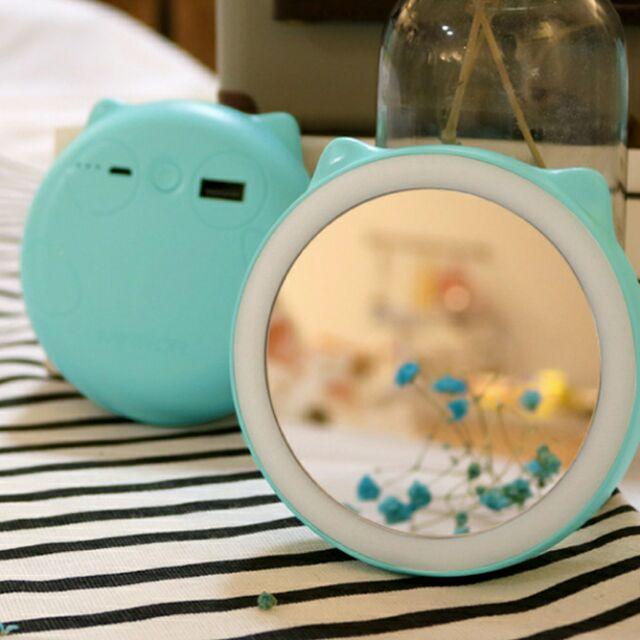 萌寵化妝鏡 LED化妝鏡 化妝鏡 隨身鏡 萌寵 巧妝鏡 補光鏡 化妝鏡 鏡子