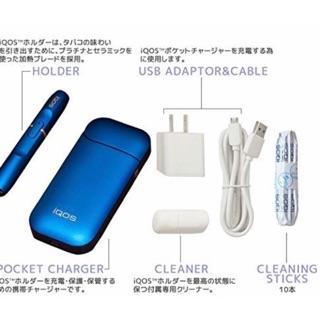 藍色歐洲限量版 iqos 日本公司貨 iqos 2.4 plus