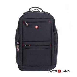 OverLand美式十字軍。美式簡約設計多夾層後背包 - 3063