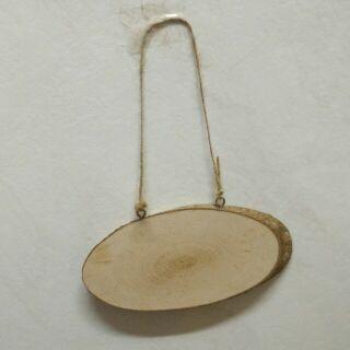 小木片吊飾 小掛板