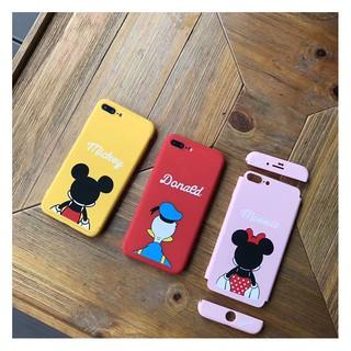 iphone7/7plus 米奇360全包覆手機殼 硬殼 防摔 iphone7 唐老鴨 米妮 iphone7plus