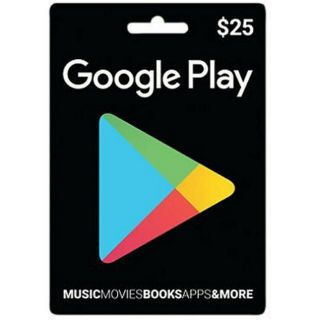 美國谷歌禮品卡google play gift card 10 15 25 USD