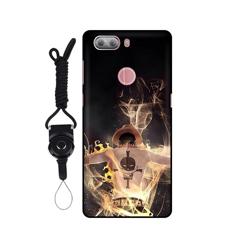 糖果SUGAR S11手機殼黑色掛繩軟殼保護套SUGAR S11手機套