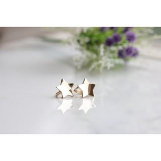 14K Gold Star Earring  金星星耳環